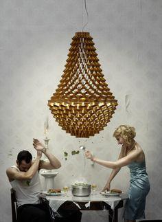 Grietje Schepers - Crown Light Fixture