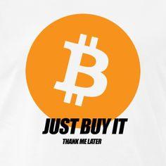 Crypto T-Shirts Thank Me Later, Just Do It, All Design, Baby Kids, Logos, T Shirt, Tee, A Logo, Tee Shirt