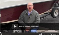Video: When to Replace Trailer Tires You see trailers broken down on the side of the road all the time. Don't let that happen to you. We show you how to prevent tire failure on your trailer, unless you run through a patch of nails. Watch: http://www.familyhandyman.com/automotive/utility-trailer/when-to-replace-trailer-tires