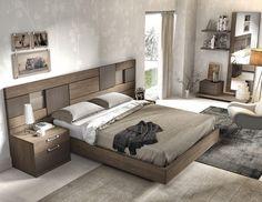 Dormitorio moderno (168 – D7) - Muebles CASANOVA