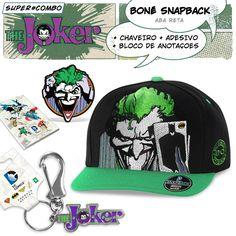 Super Combo The Joker With Cap #TheJoker #Joker #Coringa #DCComics #LojaDCComics #bandUPStore