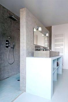 Bildergebnis für gemauerte dusche ohne glas