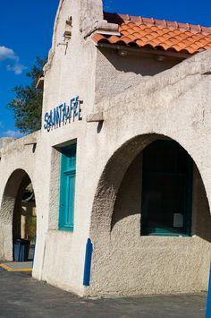 Santa Fe Train Depot ~ New Mexico