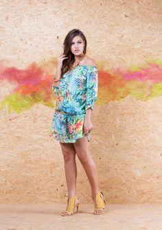 Vestido Chemise Ciganinha VVE225 #mundoErreErre #verao2015 www.erreerre.com.br