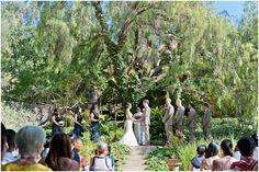 Mountain Mermaid House Wedding   Wedding Ceremony Area   Photo by: Cameron Leung Photography