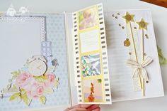 Fairy_book (53) Diy Mini Album, Mini Albums, Decorative Storage, Diy Storage, Tarjetas Pop Up, Baby Girl Scrapbook, Album Scrapbook, Baby Album, Mini Photo