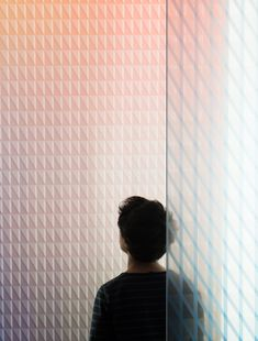 Oblique and Chevron glass panels by Ronan and Erwan Bouroullec x Skyline Design Colour Architecture, Skyline Design, Laminated Glass, Linear Pattern, Stained Glass Designs, Co Working, Glass Texture, Simple Shapes, Glass Panels