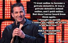 #MikeVecchione, #comedians, #comedy, #funny, #StandUp, #Jokes, #fun, #comic, #lol, #joke, #humor http://supcomedy.com/artist/mike-vecchione/