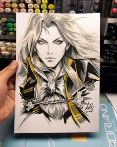 Alucard castlevania anime art alucard in 2019 алукард, вампиры, вдохновение Copic Drawings, Cool Art Drawings, Art Sketches, Alucard Castlevania, Anime Tatoo, Manga Art, Manga Anime, Character Art, Character Design