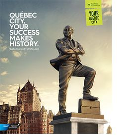 Québec City Business Destination's campaign is in full swing! | Québec City Convention Centre