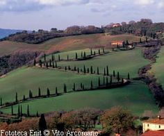 Val d'Orcia in der Toskana - Toscana