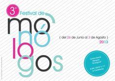 Tercer Festival de Monólogos
