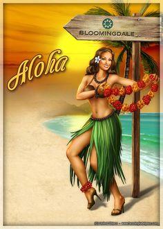 Hula In High Heels &&&&...........http://www.pinterest.com/isabelleisabo/image-pour-transfert/