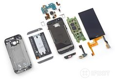 New HTC One teardown reveals it's a pain to repair, just like the last One