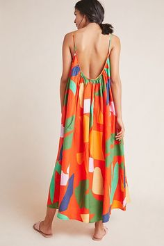 Mara Hoffman Fiona Dress by in Assorted Size: Xs, Women's Swimwear at Anthropologie Swimwear Uk, Swimsuits, Short Dresses, Summer Dresses, Swimsuit Cover Ups, Beachwear, Dress Up, Cover Up Dresses, Cold Shoulder Dress