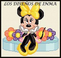PDF Gráfico Punto de Cruz, Disney 38, Disney Punto de Cruz, Disney, Disney Cross Stitch Pattern