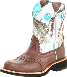 Ariat Women's Fatbaby Cowgirl Equestrian Boot,Brown Crinkle/Snowflake,9.5 M US Ariat,http://www.amazon.com/dp/B005M8VUVS/ref=cm_sw_r_pi_dp_88y2sb0XDPP49Q40
