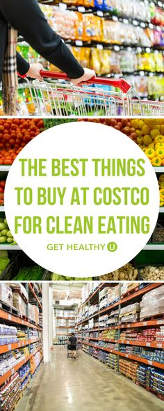 Check out our article on what healthy foods you can find at Costco! Grocery shopping can be challenging, especially if you're cooking for a family and have a budget. This list will tell you what key items to get while you're inside this big box store! Get Healthy, Healthy Foods To Buy, Good Healthy Recipes, Clean Eating Recipes, Clean Eating Snacks, Whole Food Recipes, Eating Habits, Eating Healthy, Costco Healthy Snacks