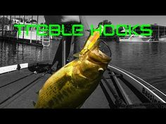 Bass Fishing: Treble Hooks and Lure Modifications - YouTube