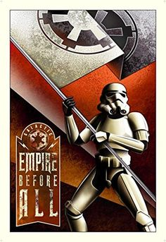 Mike Kungl Empire Before All From Lucas Films Star Wars Disney Art @ niftywarehouse.com #NiftyWarehouse #Geek #Products #StarWars #Movies #Film