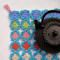 Mr. Micawber's Recipe for Happiness: Always Teatime ~ a Free Pattern in Celebration of National Crochet Month