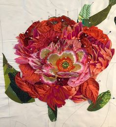 Join me as I introduce you to the world of collage quilts! We will discuss the basics of creating a stunning collage quilt. Fabric Panel Quilts, Fabric Art, Scrap Fabric, Fabric Crafts, Quilting Tutorials, Quilting Designs, Art Quilting, Quilt Art, Painting Collage
