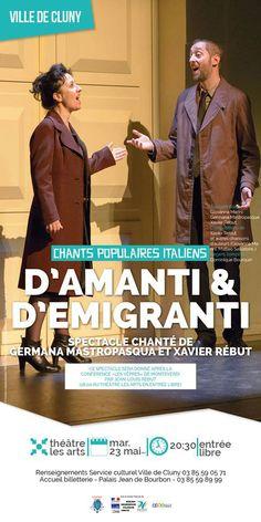 "Concert ""D'Amanti & d'Emigranti"" le 23 mai 2017 à Cluny : http://clun.yt/2rsXLLB"
