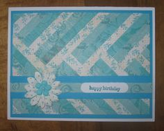 Quilted Cards by Carolynn - Cards and Paper Crafts at Splitcoaststampers