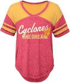 separation shoes 4e5d5 56a0e Juniors  Iowa State Cyclones Football Tee