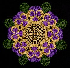 Machine Embroidery Designs K-Lace™ Bowls and Doilies