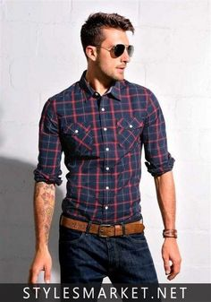 Cool outfit business casual men, men casual, environment, button down shirt Business Casual Men, Business Attire, Business Fashion, Mode Masculine, Style Casual, Casual Looks, Smart Casual, Men's Style, Hipster Style