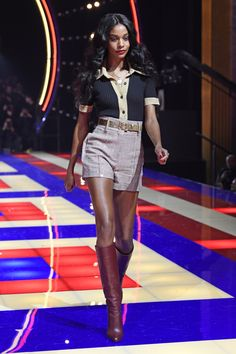 f1f02ff54c42ab Tommy Hilfiger s fall 2019 collection was shown at Paris Fashion Week and  included the debut Tommy x Zendaya collab.