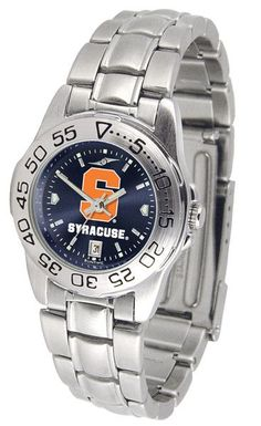 Syracuse Orange Womens Sport Steel Anochrome Watch