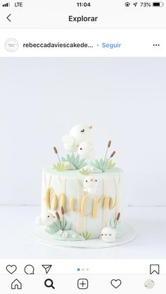 Baby Girl Birthday Cake, Candy Theme Birthday Party, Bithday Cake, Cake Designs For Girl, Cupcake Cake Designs, Cupcake Cakes, Cupcakes, Just Cakes, Colorful Cakes