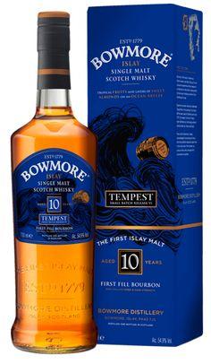 Bowmore Tempest 10 Jahre Release VI, 54,9%
