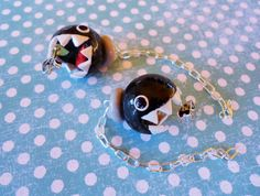 Chomper Earrings by AFKcrafts on Etsy