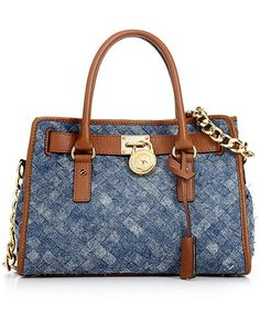 Michael Kors Denim Satchel