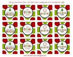 Are you ready for this?!   I've collected  35 FREE Christmas printables  from all over the blog world to share with you! These are so cut...