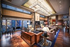 1 of the 15 most expensive hotels in the world, the Presidential Suite at Mandarin Oriental Pudong, Shanghai