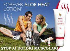 Aloe Heat Lotion è una lozione formulata per aiutare a risolvere facilmente problemi di indolenzimento muscolare e dolori alle giunture che spesso emergono dopo l'attività sportiva in genere o dopo una lunga giornata di lavoro.