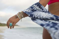 jewel inspired beach days
