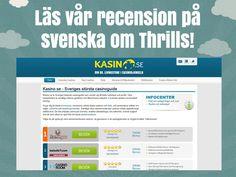 Kolla in vår recension om Thrills! http://www.kasino.se/thrills/
