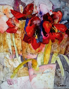 Shirley Trevana watercolor