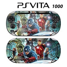 Decorative Video Game Skin Decal Cover Sticker for Sony PlayStation PS Vita PCH1000  Avengers ** Check out this great product.Note:It is affiliate link to Amazon.