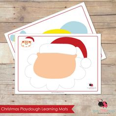 Christmas Playdough Learning Mats AUTOMATIC от BUSYLITTLEBUGSshop, $7.95