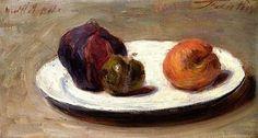 Henri Fantin-Latour, Figs, Greengage and Apricot, 1864