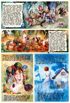 Christina Rossetti - Goblin market part 2 (of Naive, Christina Rossetti, Ancient Myths, World Of Darkness, Fairytale Art, Goblin, Faeries, Fantasy Art, Fairy Tales