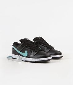 quality design 8dd27 7b2ce Nike SB x Diamond Dunk Low Pro OG Shoes - Black   Chrome - Black - Tropical  Twist