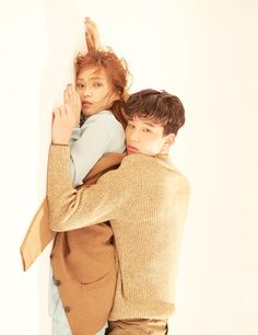 KOREAN MODEL  : Lee Yo Baek, Seon Hwang by Lee Su Jin for Ceci...