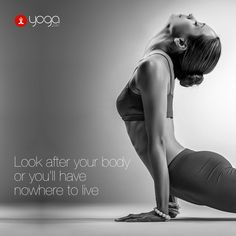 You can't get a new body, but you can look after the one you've got.